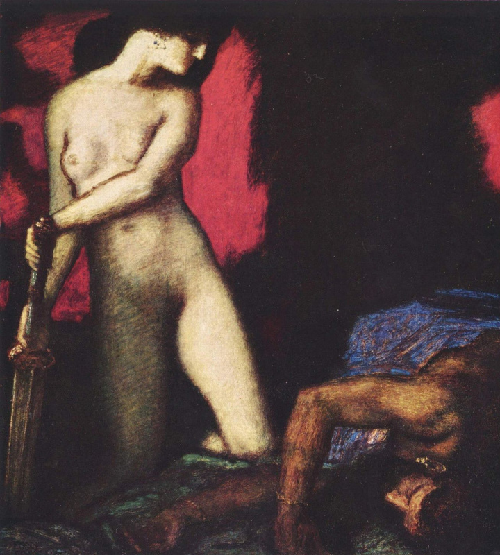 Franz von Stuck. Judith and Holofernes