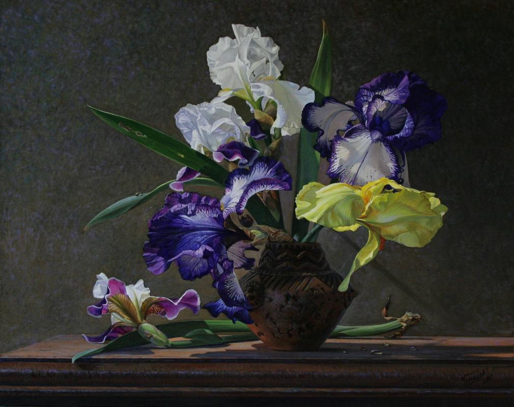 Sergey Vladimirovich Chumakov. Irises