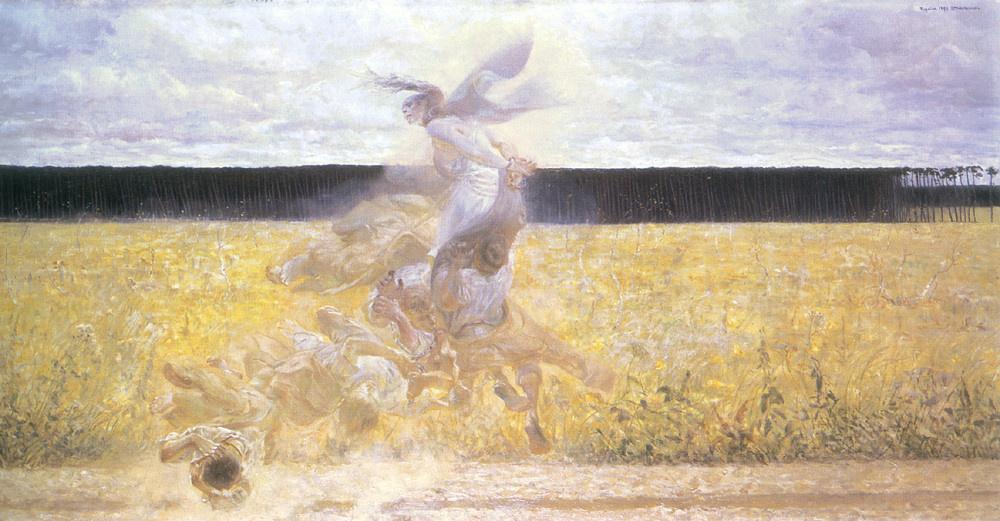 Jacek Malchevsky. In a cloud of dust