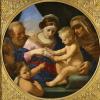 Святое семейство с маленьким Иоанном Крестителем и святой Елизаветой