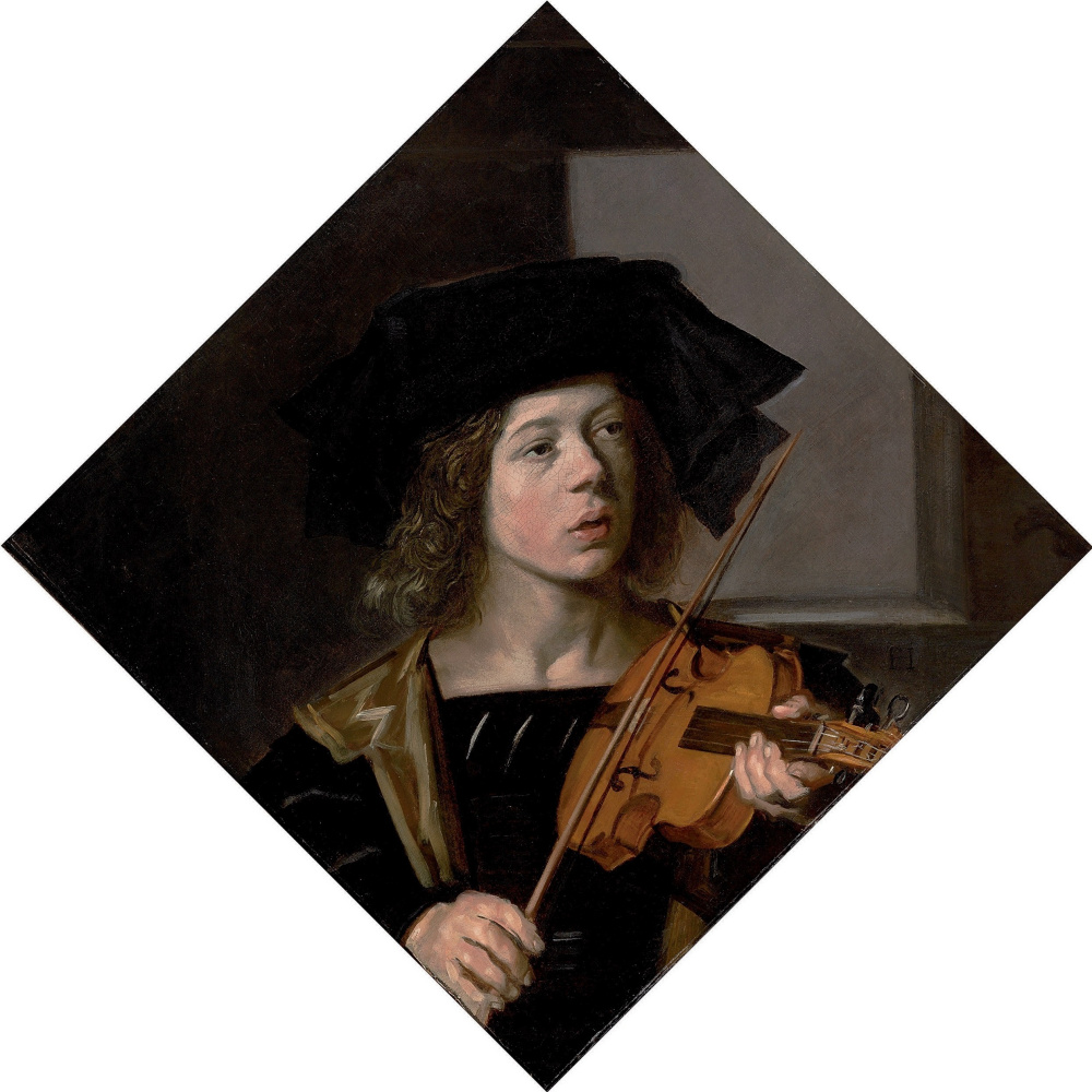 Frans Hals. The violinist