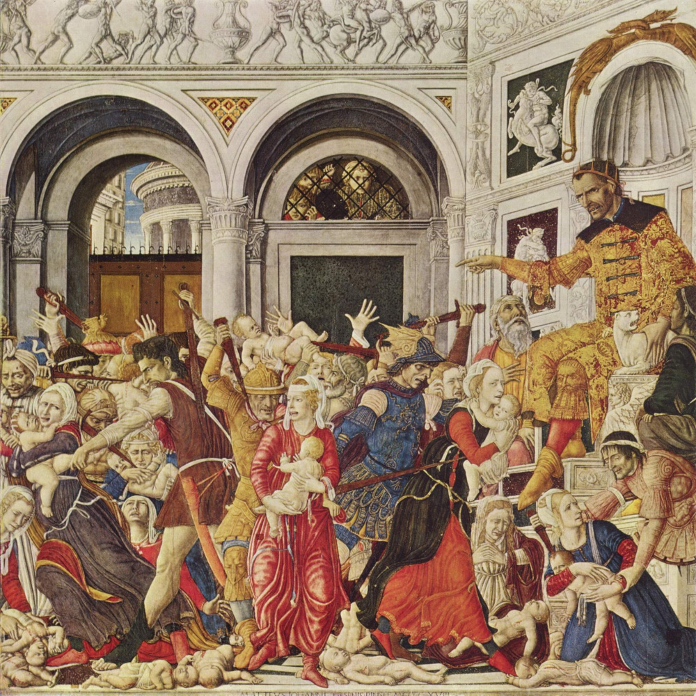 Matteo di Giovanni. The massacre of the innocents