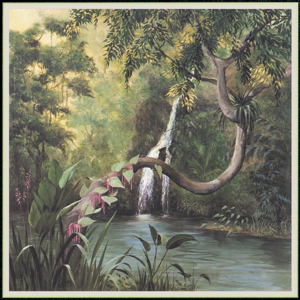 Уильям Вуд. Водопад