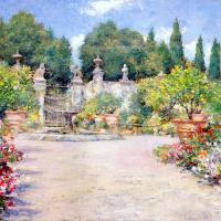 Уильям Меррит Чейз. Итальянский сад