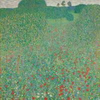 Густав Климт. Цветущие маки
