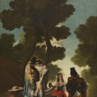 Francisco Goya. A walk in Andalusia