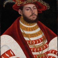 Лукас Кранах Старший. Портрет Иоганна Фридриха I, курфюрста Саксонии
