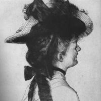 Джеймс Тиссо. Шляпа