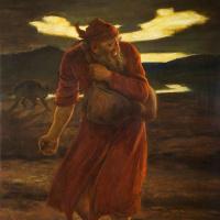 """Джон Эверетт Милле. """"Пришел враг его и посеял между пшеницею плевелы"""". Евангелие от Матвея"""