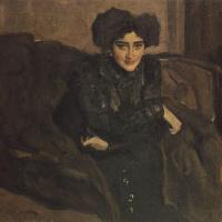 Валентин Александрович Серов. Портрет Е. И. Лосевой