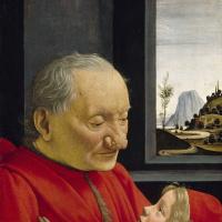 Доменико Гирландайо. Портрет старика с внуком