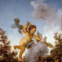 """Жан Оноре Фрагонар. Любовь-мстительница. Из живописной серии """"Любовные приключения"""""""