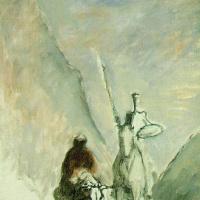 Оноре Домье. Дон Кихот и мертвый мул
