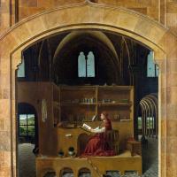 Антонелло да Мессина. Святой Иероним в своей келье