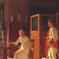 Утро жены помещика