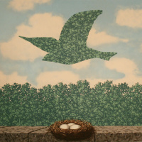 Rene Magritte. Spring
