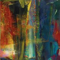 Герхард Рихтер. Абстрактная картина