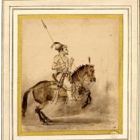 Рембрандт Харменс ван Рейн. Конный могольский аристократ