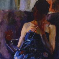 Alexander Alexandrovich Murashko. Woman with a pearl