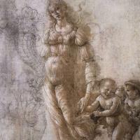 """Сандро Боттичелли. Этюд к картине """"Осень или Aллегория чрезмерного потребления вина"""""""
