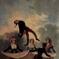 Эскизы гобеленов для королевских дворцов Прадо и Эскориал. Марионетка
