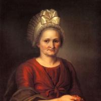 Портрет А. Л. Венециановой, матери художника