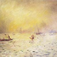 Пьер Огюст Ренуар. Вид Венеции, туман