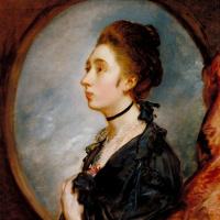 Портрет дочери художника Маргарет