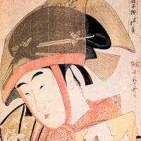 Китагава Утамаро. Танец воробья Йошивара