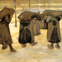 Women carrying coal