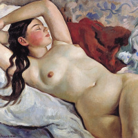 Reclining Nude: a portrait of Mlle. Nevedomskii