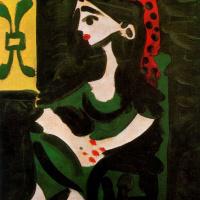 Пабло Пикассо. Жаклин 2