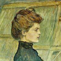 Henri de Toulouse-Lautrec. Portrait Of Helen