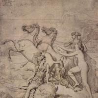 Жан Огюст Доминик Энгр. Венера, раненая Диомедом