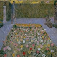Cuno Amiè. Figures in the garden