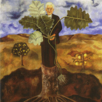 Портрет ботаника Лютера Бербанка