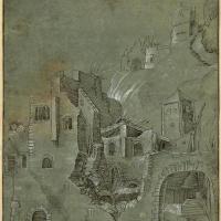 Альбрехт Дюрер. Развалины замка у подножия горы