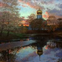 Sergey Alekseevich Makarov. Autumn in Tsarskoye Selo..