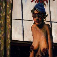 Джон Кугар Мелленкамп. Обнаженная женщина в маске