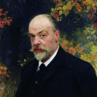 Илья Ефимович Репин. Портрет Крючкова