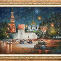 Igor Razzhivin. Монастырь в ночном убранстве