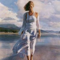 Стив Хэнкс. Прогулка по пляжу