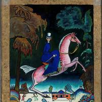 Василий Кандинский. Амазонка с голубыми львами