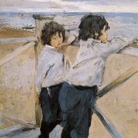 Валентин Александрович Серов. Дети