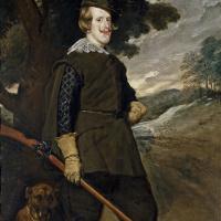 Диего Веласкес. Портрет Филиппа IV в охотничьем костюме