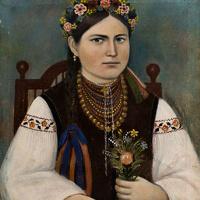 Панас Ярмоленко. Портрет Натальи Кучеренко