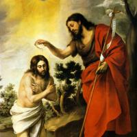 Бартоломе Эстебан Мурильо. Крещение Христа