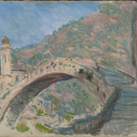 Дольчеаккуа, старый мост через Нервию