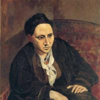 Пабло Пикассо. Портрет Гертруды Стайн