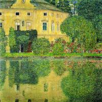 Густав Климт. Замок Каммер на озере Аттерзее IV